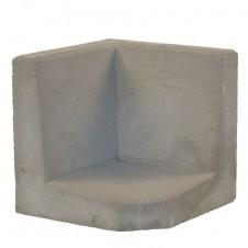 L-Hoekelement grijs