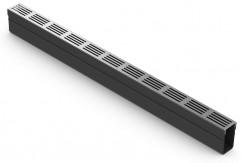 Slim-LINE aluminium Roostergoot