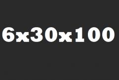Opsluitband 6x30x100